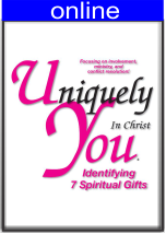 7 Spiritual Gifts Only Online Profile (w/out the DISC questionnaire)