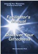 Discover Your Giftedness Small Group Study Guide Facilitator's Manual PDF