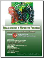 Membership and Ministry - Combining 7 SGs & 4 DISC Profile - Personalizing My Faith Plan