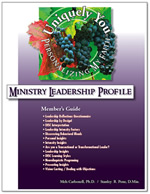 Personalizing My Faith Ministry Leadership Profile