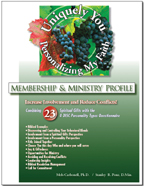 Membership and Ministry - Combining 23 SGs & 4 DISC Profile - Personalizing My Faith Plan