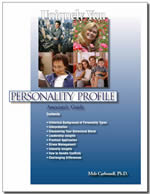 Uniquely You Personality Profile