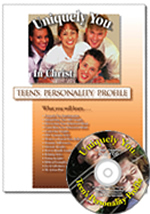 Teen's Profile with DISC Questionnaire Biblical Version w/ CD