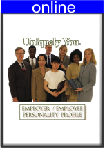 Employer/Employee Personality Online Profile (approx. 30 printed pgs.)  Summarized