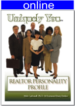 Realtor's Personality Online Profile (approx. 45 printed pgs.) Summarized