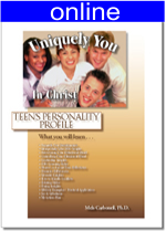 Teens Personality Online Profile (approx. 25 printed pgs.) Summarized